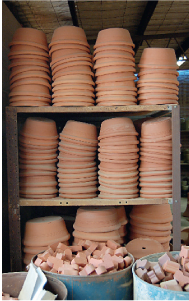 Bennetts garden pots; photos: Damon Moon